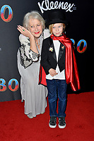 """LOS ANGELES, CA. March 11, 2019: Helen Mirren & Waylon at the world premiere of """"Dumbo"""" at the El Capitan Theatre.<br /> Picture: Paul Smith/Featureflash"""