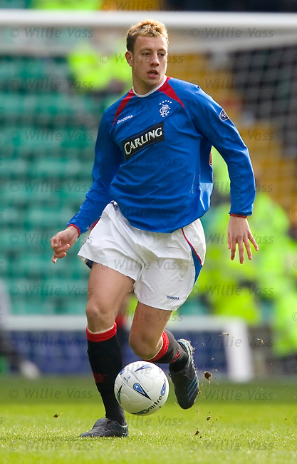 Alan Hutton, Rangers.stock season 2004-2005.pic willie vass