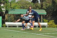 SÃO PAULO.SP.23.10.2014 -  PALMEIRAS TREINO - Jogadores do Palmeiras durante o treino na Academia de Futebol zona Oeste nesta quinta-feira 23. ( Foto: Bruno Ulivieri / Brazil Photo Press )
