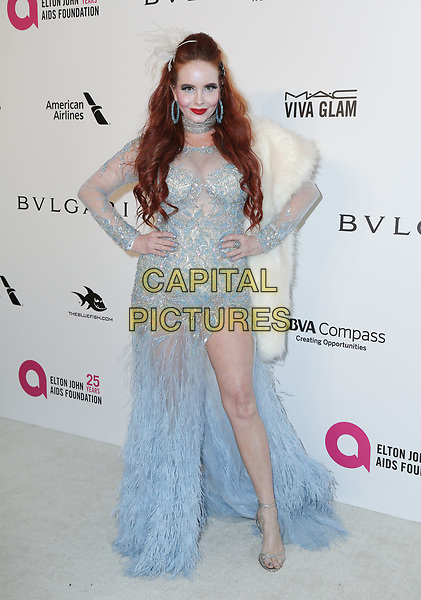 04 March 2018 - West Hollywood, California - Phoebe Price. 26th Annual Elton John Academy Awards Viewing Party held at West Hollywood Park. <br /> CAP/ADM/PMA<br /> &copy;PMA/ADM/Capital Pictures