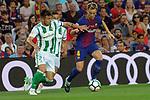 League Santander 2017/2018. Game: 01.<br /> FC Barcelona vs Real Betis: 2-0.<br /> Alin Tosca vs Ivan Rakitic.