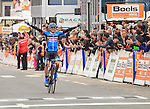 Dan Martin (IRL) Garmin Sharp wins the 2013 Liege-Bastogne-Liege race. 21st April 2013.<br />