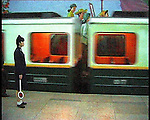 NR00074/Subway in Pyongyang, september 2000