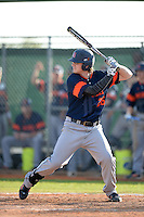 Bucknell Bison first baseman Sam Clark (26) during a game against the Illinois State Redbirds on March 8, 2015 at South County Field in Punta Gorda, Florida.  Bucknell defeated Illinois State 13-8.  (Mike Janes/Four Seam Images)