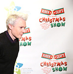 """Clay Aiken attends the Broadway Preview Photo Call for """"Ruben & Clay's First Annual Christmas Carol Family Fun Pageant"""" at Sardi's on November 15, 2018 in New York City."""