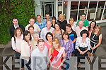 Mary Lehane, Ballyheigue (front centre) dined in Cassidy's restaurant, Tralee for her 30th birthday party along with her hubby Phillip and many friends and family last Saturday night.