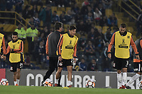 BOGOTA - COLOMBIA, 28-02-2018: Millonarios de Colombia y Corinthians de Brasil en partido por la fecha 1, grupo 7, de la CONMEBOL Libertadores 2018 jugado en el estadio Nemesio Camacho El Campin de la ciudad de Bogotá. / Millonarios of Colombia and Corinthians of Brazil in match for the date 1, group 7, of the CONMEBOL Libertadores 2018 played at Nemesio Camacho El Campin stadium in Bogota city. Photo: VizzorImage / Gabriel Aponte / Staff.