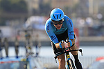 Nikita Stalnov (KAZ) Astana Pro Team during Stage 1 of the La Vuelta 2018, an individual time trial of 8km running around Malaga city centre, Spain. 25th August 2018.<br /> Picture: Eoin Clarke | Cyclefile<br /> <br /> <br /> All photos usage must carry mandatory copyright credit (© Cyclefile | Eoin Clarke)