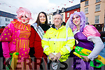 M&aacute;irt&iacute;n &Oacute; Cathasaigh, Jennifer Byrne, Rose of Tralee <br /> Donal Dillane and Mike Lynch the CH Chemist Santa parade in Tralee on Saturday afternoon last.