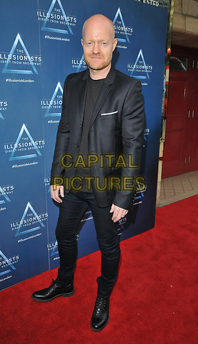 """Jake Wood at the """"The Illusionists"""" show press night, Shaftesbury Theatre, Shaftesbury Avenue, London, England, UK, on Wednesday 10th July 2019.<br /> CAP/CAN<br /> ©CAN/Capital Pictures"""