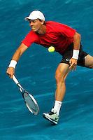 MADRID, ESPANHA, 13 MAIO 2012 - Madrid 2012 Open - Tomas Berdych  em partida contra Roger Federer na final Mutua Madrid Open 2012 na cidade de Madrid. Photo: Cesar Cebolla / Alfaqui/ Brazil Photo Press