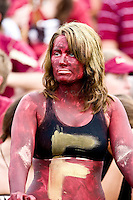 October 31, 2009:   Florida State fan during Atlantic Coast Conference action between the North Carolina State Wolfpack and Florida State Seminoles at Doak Campbell Stadium in Tallahassee, Florida.