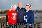 Enjoying the Santa 5km run in memory of Fiona Moore in aid of Heart Children Ireland at the Tralee Wetlands were l-r  Jack Walsh, John Walsh and Ann Walsh