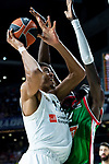 Real Madrid Walter Tavares and Kirolbet Baskonia Ilimane Diop during Turkish Airlines Euroleague match between Real Madrid and Kirolbet Baskonia at Wizink Center in Madrid, Spain. October 19, 2018. (ALTERPHOTOS/Borja B.Hojas)