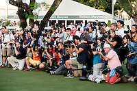 The final round of the Hong Kong Open golf tournament in Fanling Golf Club, Hong Kong,  25 Oct., 2015