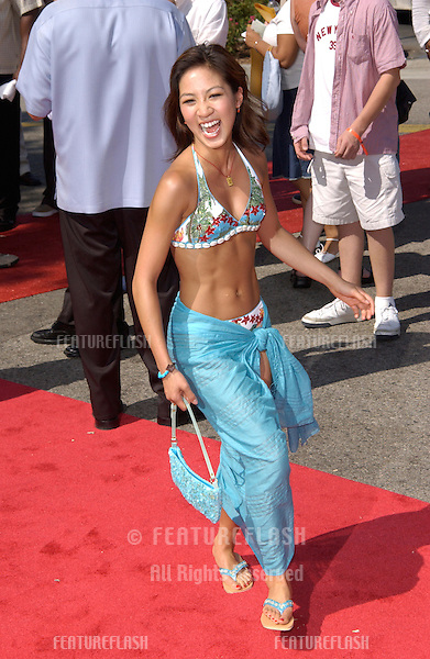 Ice skater MICHELLE KWAN at the 2002 Teen Choice Awards at Universal Studios, Hollywood..04AUG2002.  © Paul Smith/Featureflash