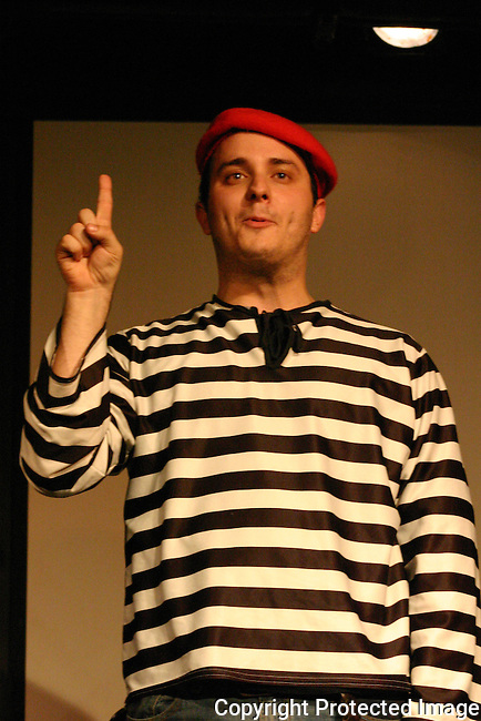 Elephant Larry at Sketchfest NYC, 2005. Sketch Comedy Festival at the Upright Citizen's Brigade Theatre, New York City.