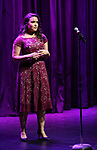 Mikaela Bennett on stage during the Vineyard Theatre Gala 2018 honoring Michael Mayer at the Edison Ballroom on May 14, 2018 in New York City.