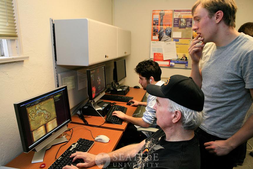 02232012- Professor Chris Paul's video gaming class