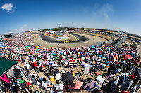 Supporters during the third race R3 of the XXX Spain GP Camion of the FIA European Truck Racing Championship 2016 in Madrid. October 02, 2016. (ALTERPHOTOS/Rodrigo Jimenez) /NORTEPHOTO.COM / © NORTEPHOTO.C OM