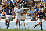 30 August 2009: North Carolina's Tobin Heath (98). The University of North Carolina Tar Heels defeated the University of North Carolina Greensboro Spartans 1-0 at Fetzer Field in Chapel Hill, North Carolina in an NCAA Division I Women's college soccer game.