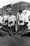 Beating the Bounds,Tower Liberty London, Ascension Day. England 1975