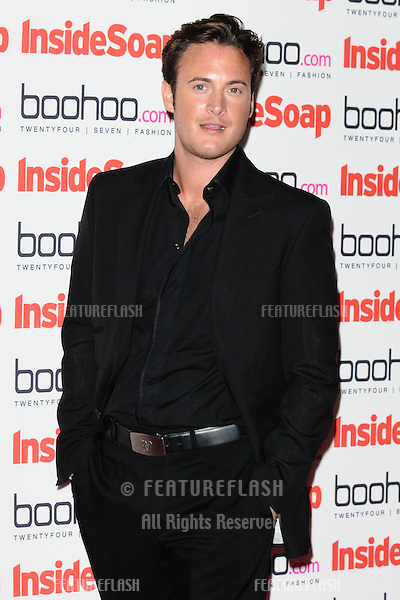 Gary Lucy arriving for the 2012 Inside Soap Awards, at No.1 Marylebone, London. 24/09/2012 Picture by: Steve Vas / Featureflash