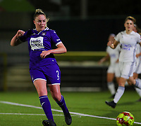20190920 – LEUVEN, BELGIUM : RSC Anderlecht's Michelle Colson is pictured during a women soccer game between Dames Oud Heverlee Leuven A and RSC Anderlecht Ladies on the fourth matchday of the Belgian Superleague season 2019-2020 , the Belgian women's football  top division , friday 20 th September 2019 at the Stadion Oud-Heverlee Korbeekdam in Oud Heverlee  , Belgium  .  PHOTO SPORTPIX.BE   SEVIL OKTEM