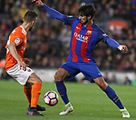 26.04.2017 Barcelona. La Liga , game 34. Picture show Andre Gomez in action during game between FC Barcelona against Osasuna at Camp Nou01.12.2016 Barcelona.
