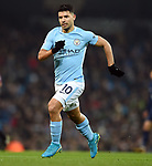 Sergio Aguero of Manchester City during the premier league match at the Etihad Stadium, Manchester. Picture date 16th December 2017. Picture credit should read: Robin ParkerSportimage