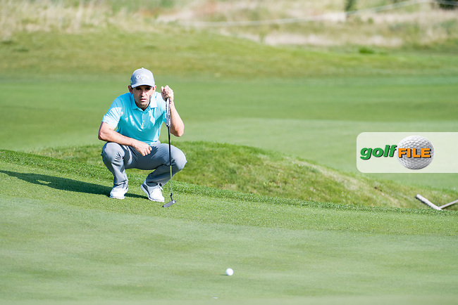 Fabrizio Zanotti (PAR) in action on the 15th hole during the 1st round at the KLM Open, The International, Amsterdam, Badhoevedorp, Netherlands. 12/09/19.<br /> Picture Stefano Di Maria / Golffile.ie<br /> <br /> All photo usage must carry mandatory copyright credit (© Golffile   Stefano Di Maria)