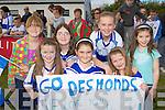 Cheering on their Earls was l-r: Anna Lynch, Moya Sheehan, Cieran McCarthy. Back row: Darya O'Connell, Sheila Kate Mulligan, Anita McCarthy and Amy O'Connor