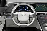 Car pictures of steering wheel view of a 2019 Hyundai Nexo - 5 Door SUV Steering Wheel