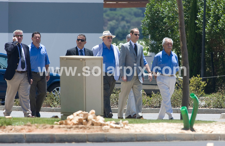 "**ALL-ROUND PICTURES FROM SOLARPIX.COM**.**WORLDWIDE SYNDICATION RIGHTS**.Prince Edward with close friend Andre Jordan at the Oceanico development and Victoria Golf course in Vilamoura where he was attending the opening of ""The Residences"" apartments which were built by Andre Jordan..This pic:  Prince Edward and Andre Jordan.JOB REF:   9384  AB1       DATE:  27.06.09.**MUST CREDIT SOLARPIX.COM OR DOUBLE FEE WILL BE CHARGED**.**NO ONLINE USAGE BEFORE FEE  AGREED**.**CALL SOLARPIX : +34 952 811 768 or LOW RATE FROM UK 0844 617 7637**."