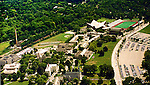 Aerial photograph of Villanova University with sports fields