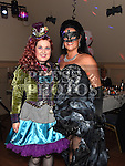 Emma Black and Jane Farrell at the Halloween Ball in the Thatch in aid of Motor Neurone Disease Oncology Dept of Our Lady of Lourdes hospital. Photo:Colin Bell/pressphotos.ie