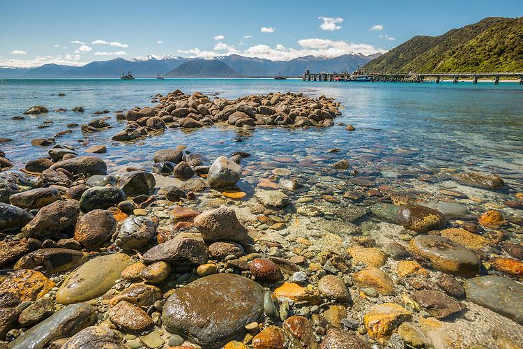 Jackson Bay, South Westland, New Zealand - stock photo, canvas, fine art print
