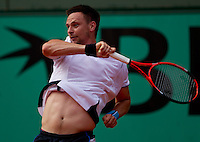 Robin Soderling (SWE) (5) against Albert Montanes (ESP) in the second round of the men's singles. Robin Soderling beat Albert Montanes 6-4 7-5 2-6 6-3..Tennis - French Open - Day 6 - Fri 29 May 2010 - Roland Garros - Paris - France..© FREY - AMN Images, 1st Floor, Barry House, 20-22 Worple Road, London. SW19 4DH - Tel: +44 (0) 208 947 0117 - contact@advantagemedianet.com - www.photoshelter.com/c/amnimages