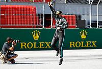 5th July 2020; Red Bull Ring, Spielberg Austria; F1 Grand Prix of Austria, Race Day; 77 Valtteri Bottas FIN, Mercedes-AMG Petronas Formula One Team celebrates the win