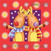 Addy, CHRISTMAS ANIMALS, paintings(GBAD1157,#XA#)