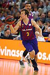 League ACB-ENDESA 201/2019.Game 38.<br /> PlayOff Semifinals.1st match.<br /> FC Barcelona Lassa vs Tecnyconta Zaragoza: 101-59.<br /> Kevin Pangos.
