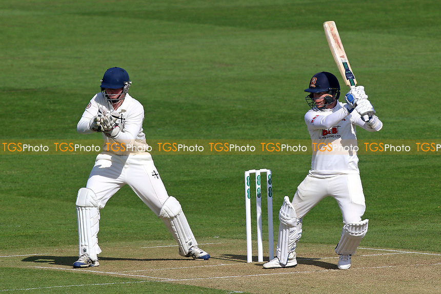 Adam Wheater in batting action for Essex during Essex CCC vs Durham MCCU, English MCC University Match Cricket at The Cloudfm County Ground on 2nd April 2017