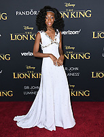 "09 July 2019 - Hollywood, California - Shahadi Wright Joseph. Disney's ""The Lion King"" Los Angeles Premiere held at Dolby Theatre. Photo Credit: Birdie Thompson/AdMedia"