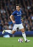 Leighton Baines of Everton during the Europa League Qualifying Play Offs 1st Leg match at Goodison Park Stadium, Liverpool. Picture date: August 17th 2017. Picture credit should read: David Klein/Sportimage