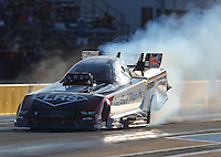 Oct 14, 2016; Ennis, TX, USA; NHRA funny car driver Tim Wilkerson during qualifying for the Fall Nationals at Texas Motorplex. Mandatory Credit: Mark J. Rebilas-USA TODAY Sports
