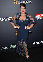 BEVERLY HILLS, CA. October 28, 2016: Denise Welch at the 2016 AMD British Academy Britannia Awards at the Beverly Hilton Hotel.<br /> Picture: Paul Smith/Featureflash/SilverHub 0208 004 5359/ 07711 972644 Editors@silverhubmedia.com