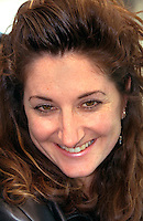 Happy woman age 32.  St Paul Minnesota USA