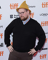 """TORONTO, ONTARIO - SEPTEMBER 08: Dan Deacon attends the """"And We Go Green"""" premiere during the 2019 Toronto International Film Festival at Ryerson Theatre on September 08, 2019 in Toronto, Canada. Photo: <br /> CAP/MPI/IS/PICJER<br /> ©PICJER/IS/MPI/Capital Pictures"""