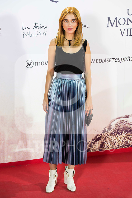 "Leticia Dolera during the premiere of the spanish film ""Un Monstruo Viene a Verme"" of J.A. Bayona at Teatro Real in Madrid. September 26, 2016. (ALTERPHOTOS/Borja B.Hojas)"