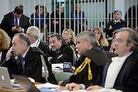 Roma, 19 Novembre 2015<br /> Paolo Petrucci.<br /> Aula bunker di Rebibbia<br /> Terza udienza del processo Mafia Capitale, Roma Capitale, avvocati,